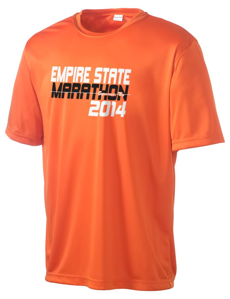 7707f4760 Empire State Marathon Men's Competitor Performance T-Shirt. Customize your  own race apparel with exclusive designs for an upcoming race!
