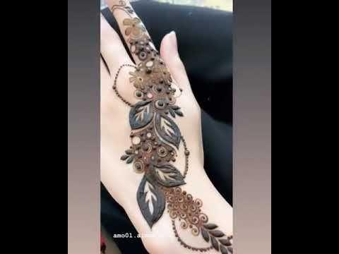 نقش حناء راااقي Youtube Mehndi Design Photos Mehndi Designs For Girls Mehndi Art Designs