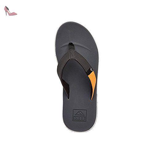Rover Slammed Reef Chaussures De Plage Sandales Hommes Noir Chaussures Reef Partner Link Sandales Homme Chaussure De Plage Chaussure