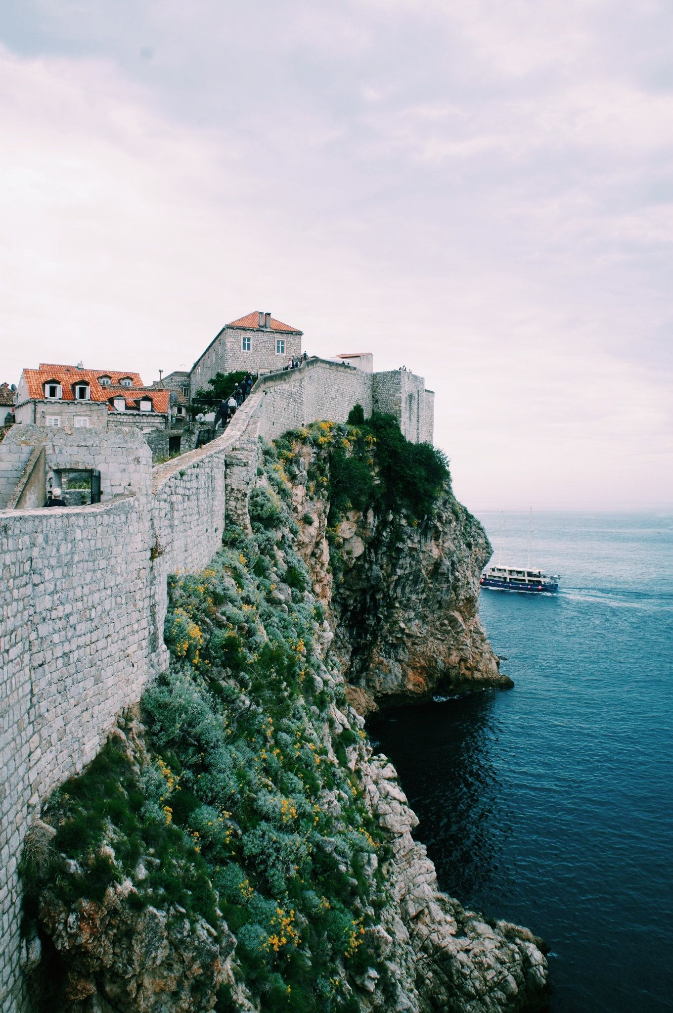 the walled city dubrovnik walled city croatia tower bridge on walled id=12235