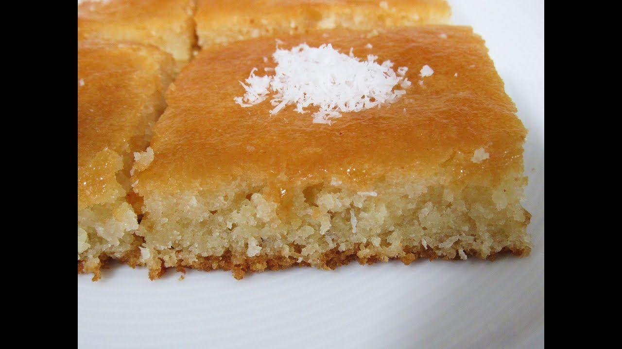 بسبوسة بجوز الهند غررااام البسبوسة اللامعة بدون بيض سيعشقها الجميع بطعم Food Desserts Pie