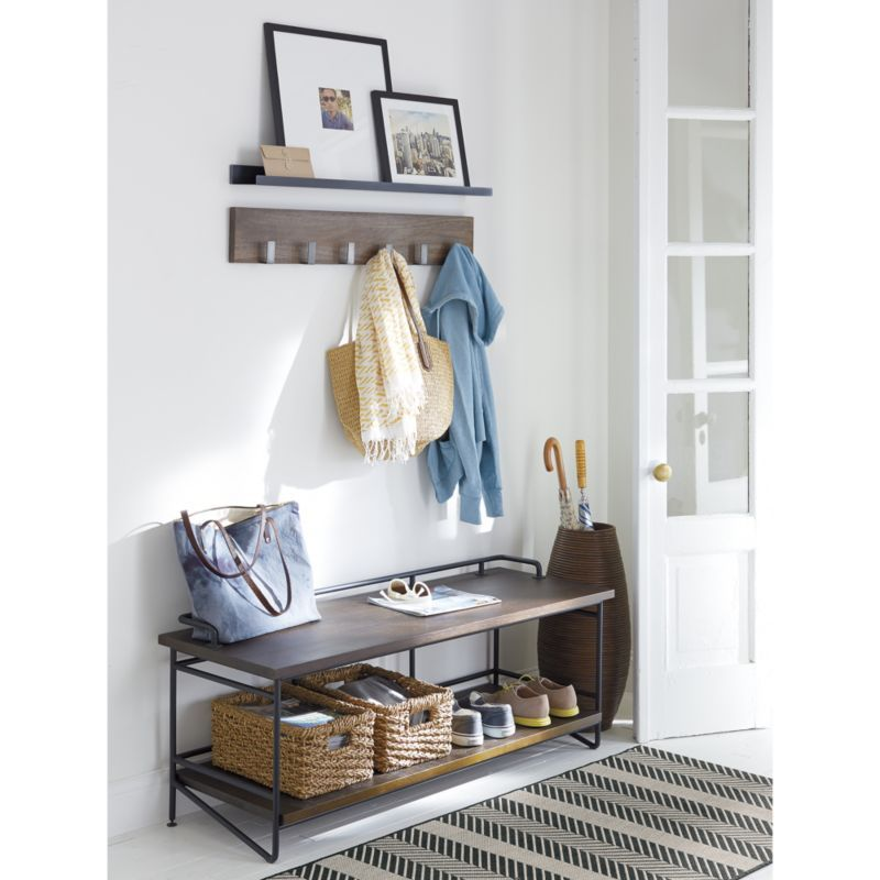 Leigh Wall Mounted Coat Rack Furniture Pinterest 40x40 Picture Magnificent Leigh Wall Mounted Coat Rack