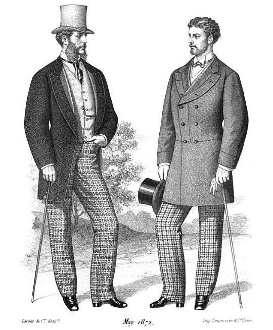 Victorian Men S Fashion 1870s Fashion Pinterest Fashion