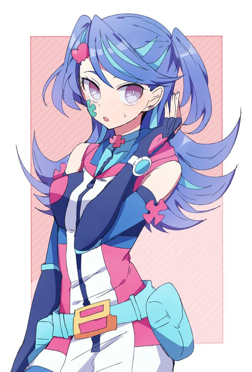 Blue Maiden ✨ Yugioh Vrains | yugi oh | Anime girl neko
