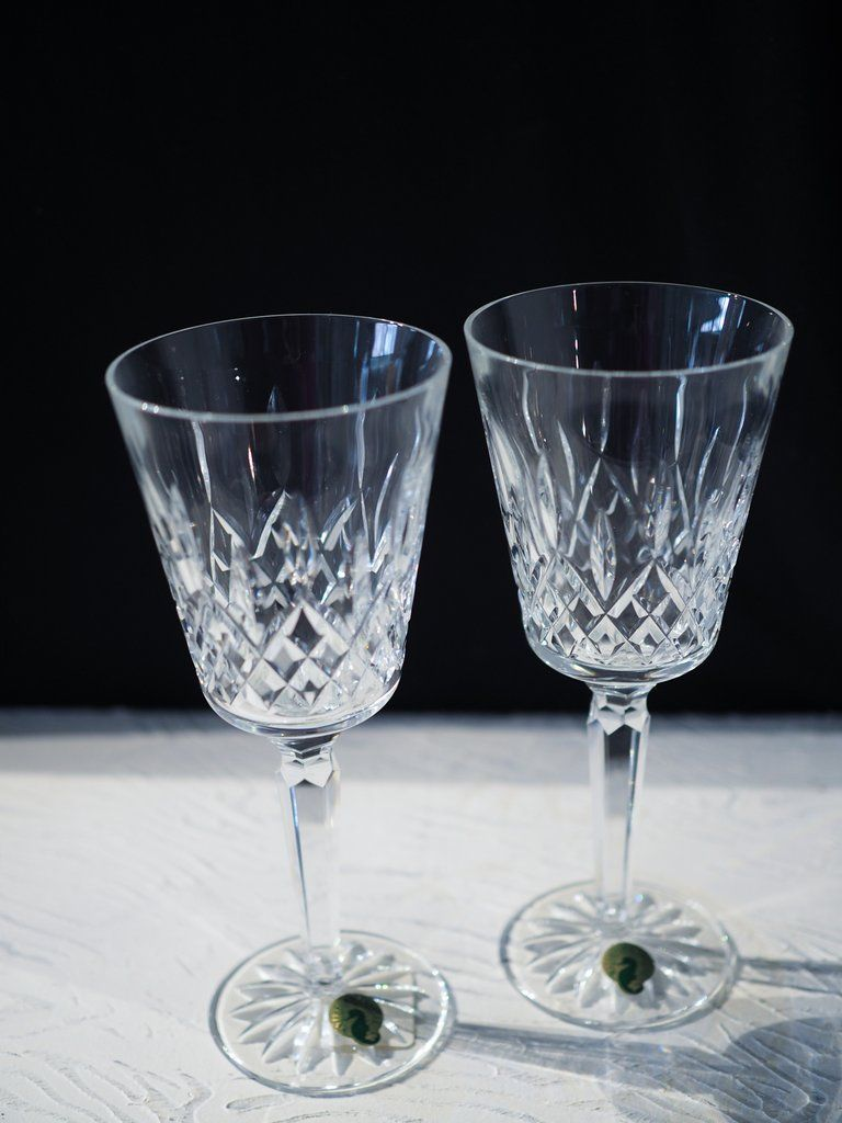 Waterford Lismore Tall Goblets Used