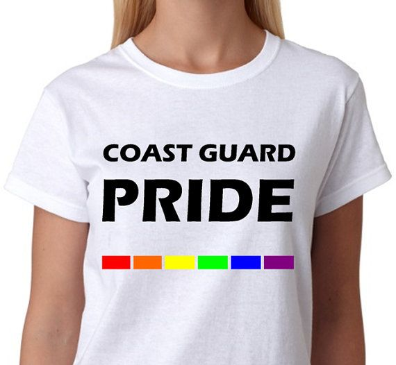 The coast guard is gay because
