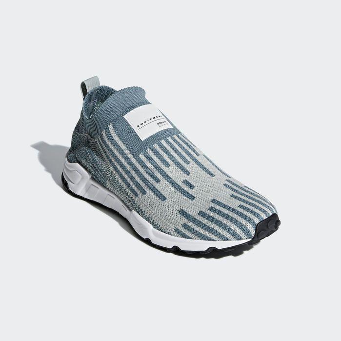 EQT Support Sock Primeknit Shoes Green 9 Mens | Support