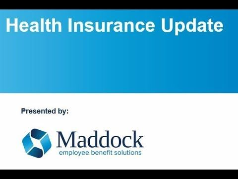 Listen To Dave G Maddock Rhu Give An Update On Medical Insurance