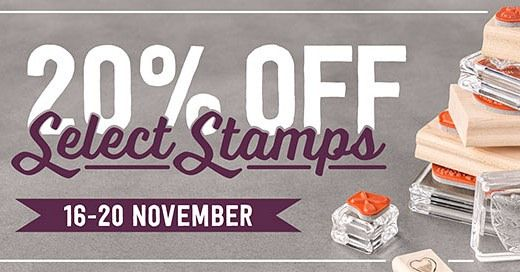 We can't believe it! Stampin' Up! has 17 stamp sets on sale at 20% off for just a few days. This rarely happens so check it out here and get your stamps ordered! #stampinup #papercraft #diy #handmade #marnihappycrafter #rubberstamping #craft