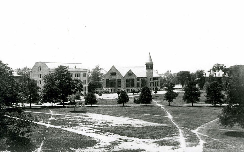 The Oval In 1905 Before Paths Were Paved The Ohio State University Ohio State Ohio