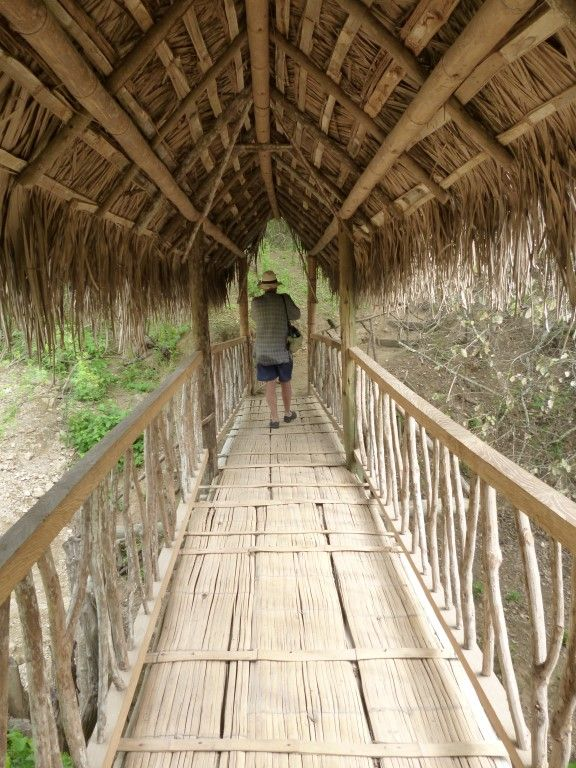 Hike the relaxing trails of Agua Blanca near Puerto Lopez