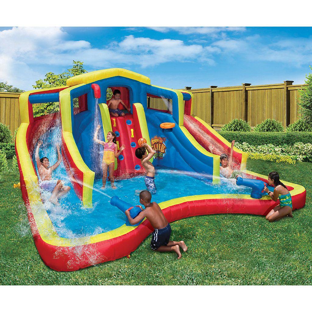 Banzai Adventure Club Inflatable Waterpark | Kohls in 2020 ...