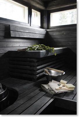 Sauna at Villa Alla