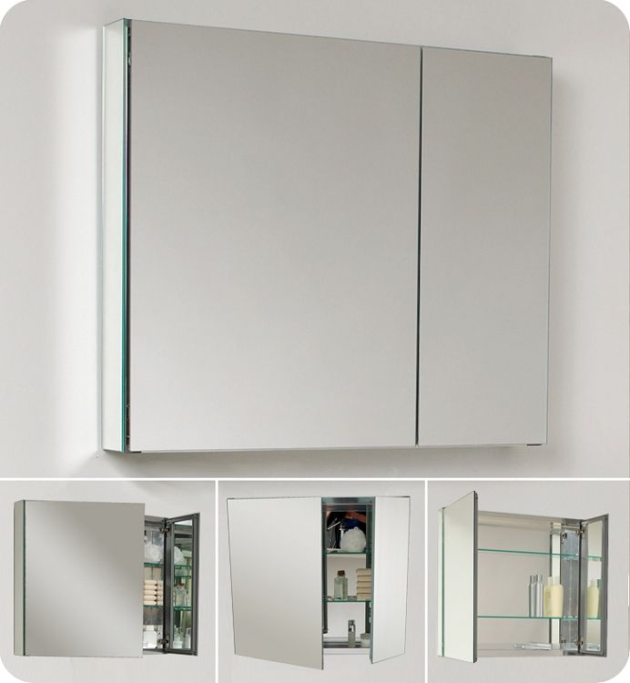 Bathroom Medicine Cabinet W Mirrors 48W 48 Awesome Stuff Gorgeous Bathroom Cabinet Mirrored