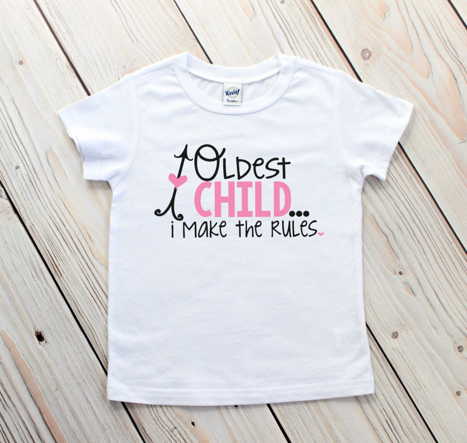 ba0c8b69b7 Oldest Middle Youngest - Birth Order Shirts - Oldest Child Shirt - Funny Sibling  Shirts - Sibling Outfits - Family Rules Shirts - Photo Prop by ...