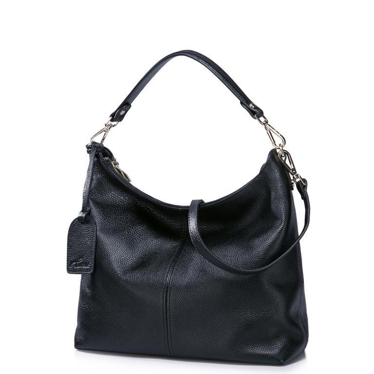 Nucelle Torebka A4 Skora Natural Klasykrabat 5066969725 Oficjalne Archiwum Allegro Crossbody Bag Black Leather Handbags Bags
