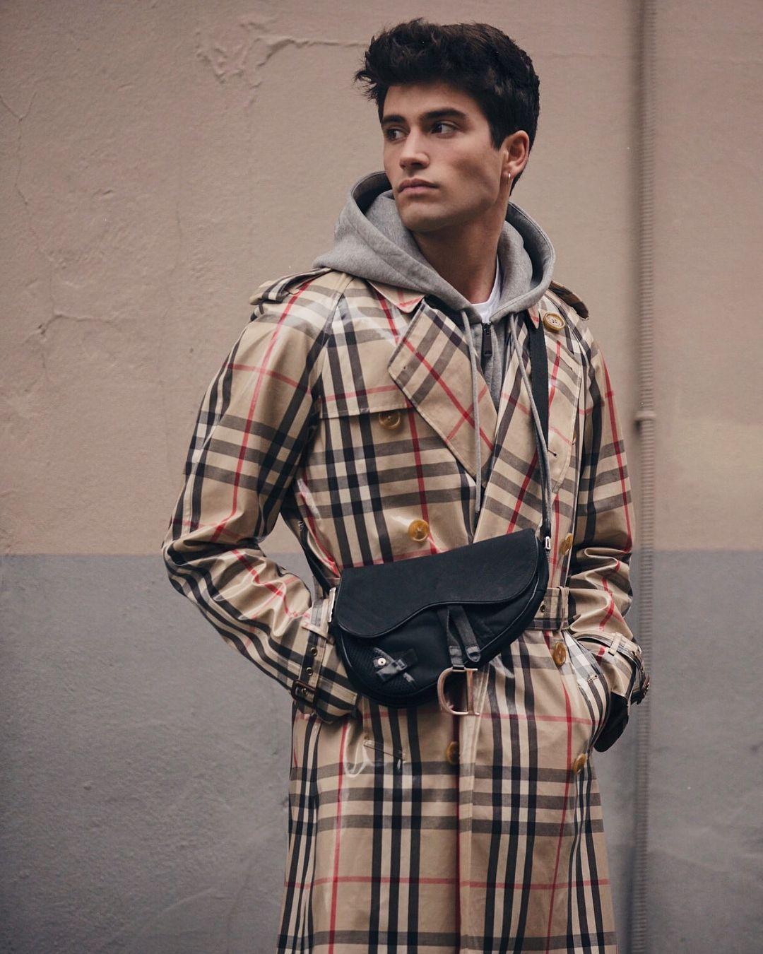 Dior Saddle Bag Men Style