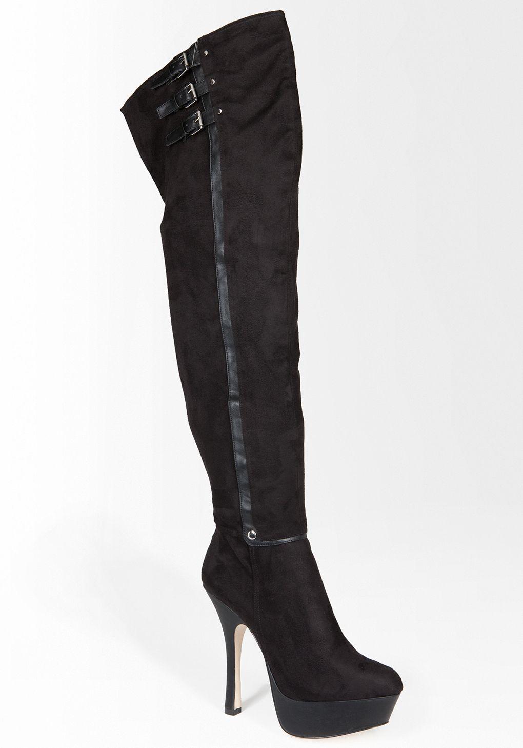 3f1c800e239 bebe Brigette Thigh High Boot