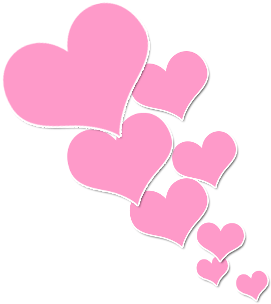 View Full Size Pink Color Heart Clip Art Heart Pink Clipart Transparent Background Png Download And Download Transp Heart Clip Art Colorful Heart Clip Art