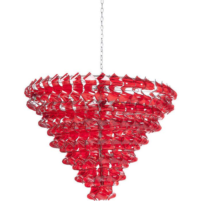 Pendant Lamp Domino Red 13-lite - KARE Design