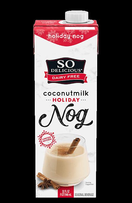 Vegan No Churn Eggnog Ice Cream So Delicious Dairy Free Dairy Free Vegan Eggnog Coconut Eggnog