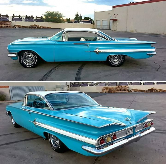 '60 Chevrolet Impala Bubble Top  #bubble #chevrolet #impala #classiccars #classi…