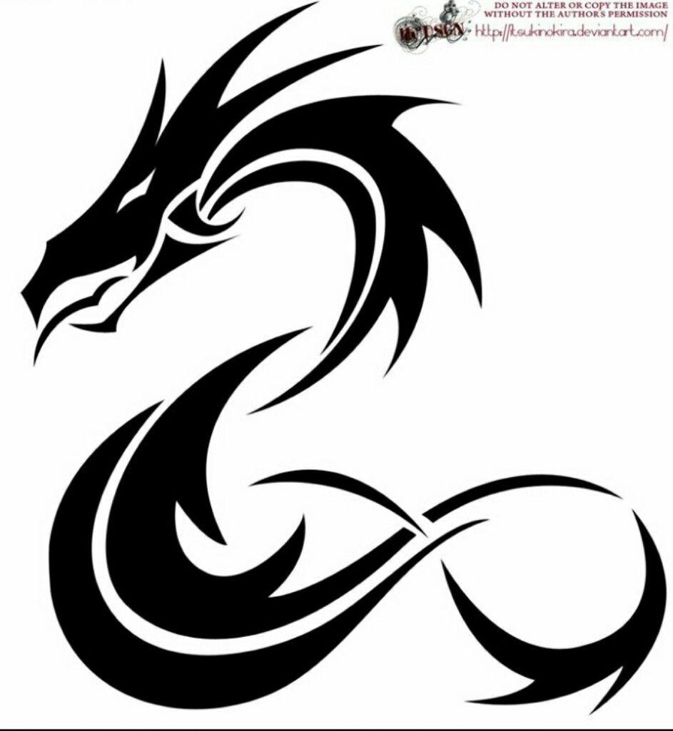 Pin De Joshua Barbershop En Imagenes Pinterest Tribal Dragon