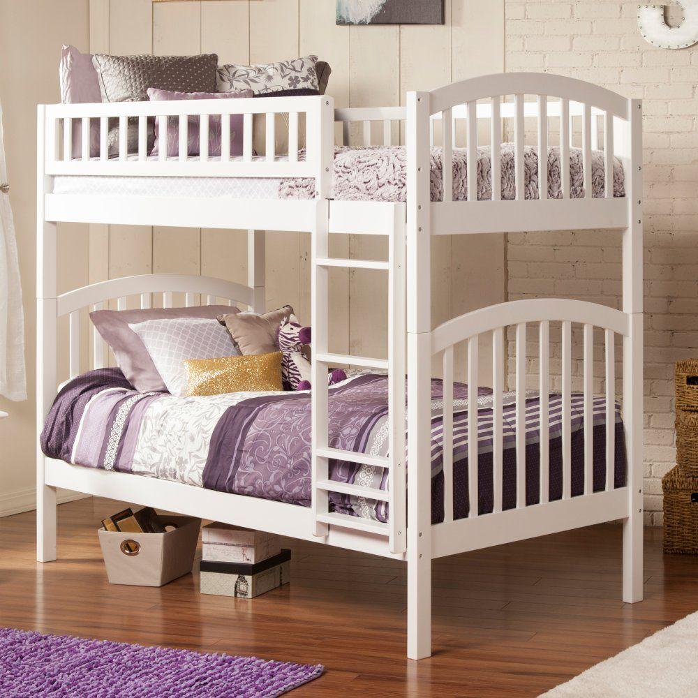 Atlantic Furniture Richland Twin over Twin Bunk Bed Twin