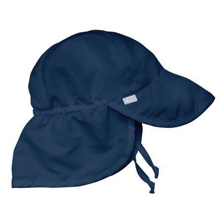 i play. Flap Sun Protection Hat-Navy-2T 4T dd84ed2a89b8
