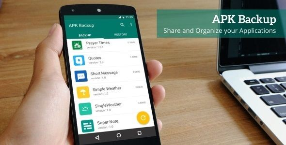 APK Backup - Android App 1.3 . Demo APK 1.3 | Web Design Lovers ...