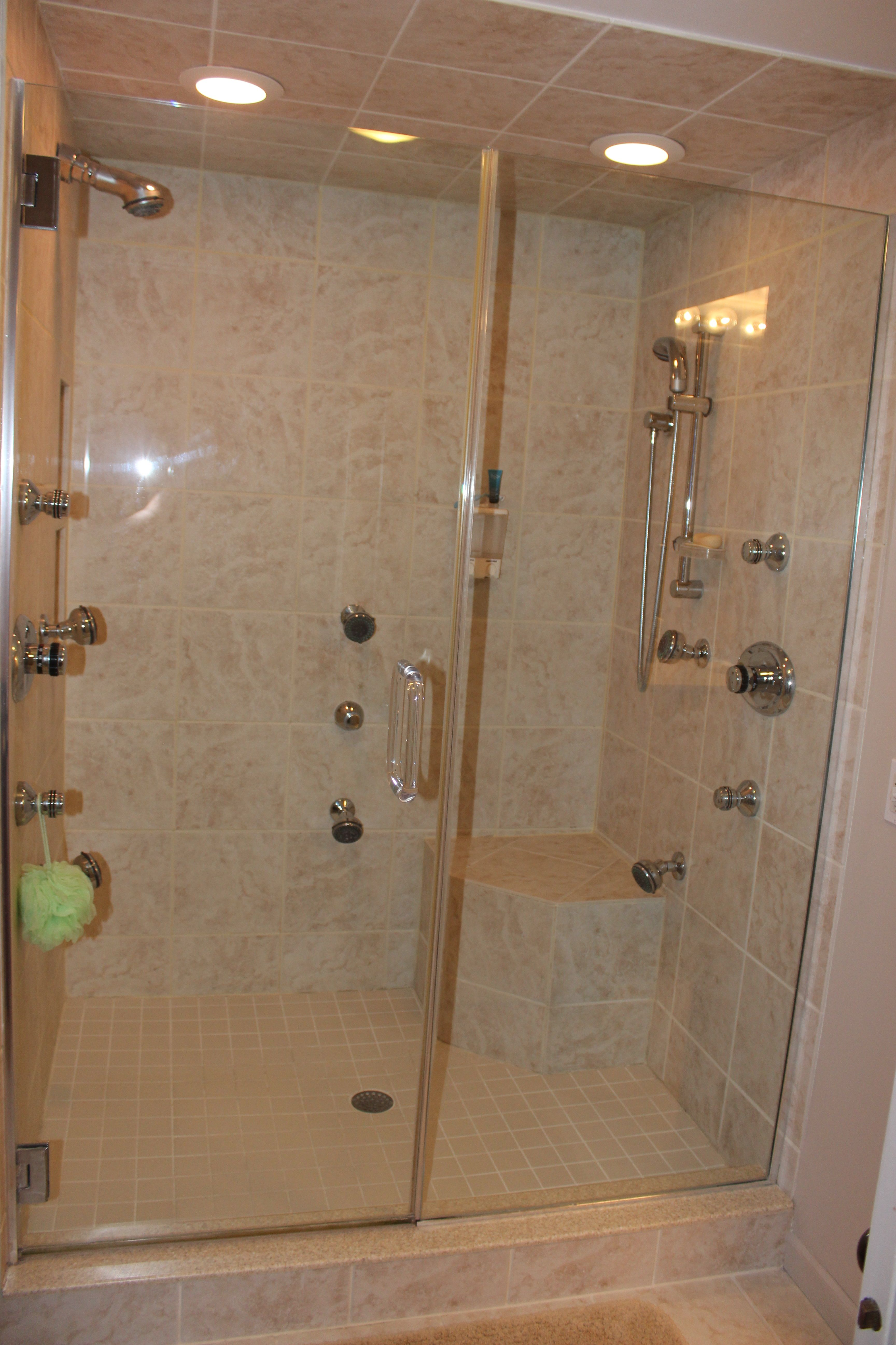 Top Cleaning Hacks Sparkling Clean Shower Doors And Hard Water Stains