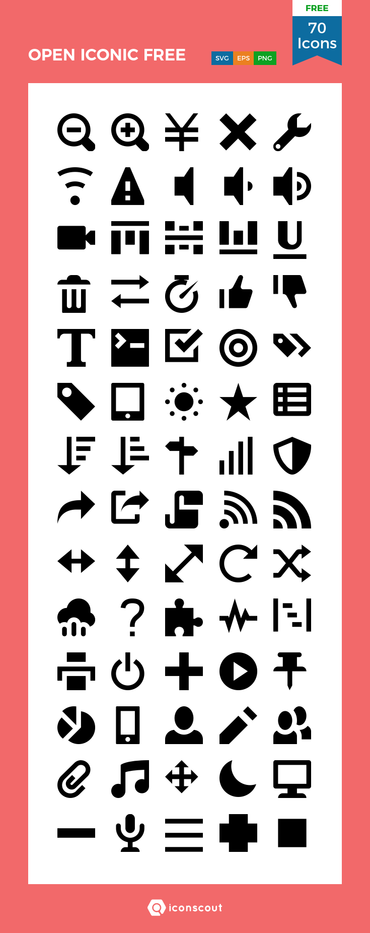 Download Download OPEN ICONIC FREE Icon pack - Available in SVG ...