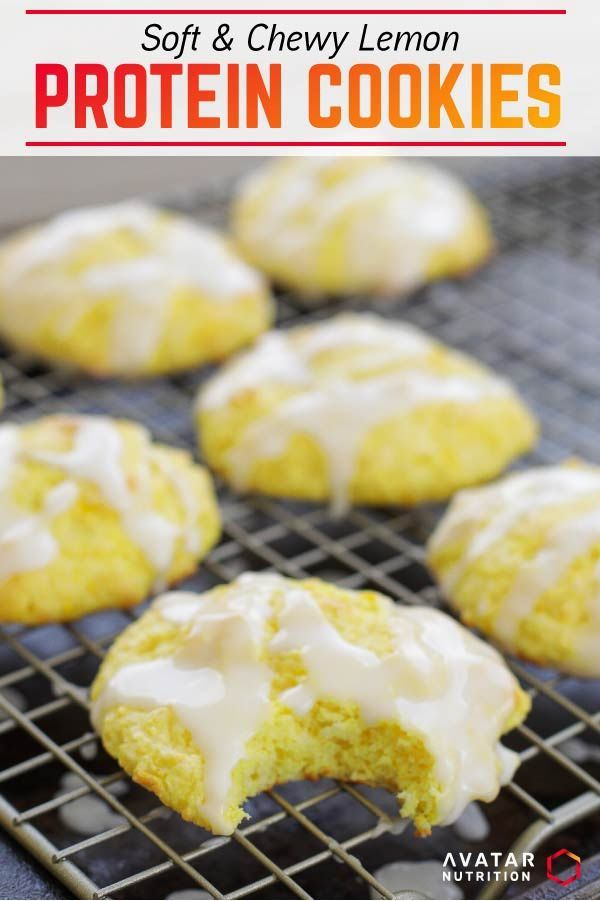Photo of Macro Friendly Soft & Chewy Lemon Protein Coo