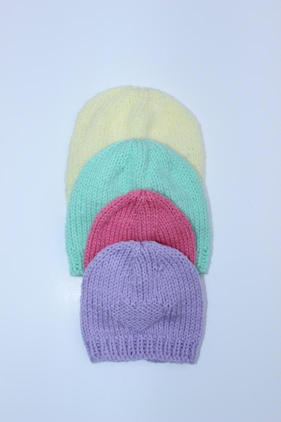 knitting pattern baby hat preemie // newborn hat pattern // baby hat pattern // infant hat pattern // premie hat pattern // KP434 #premiebabyhats knitting pattern baby hat preemie // newborn hat pattern // baby hat pattern // infant hat pattern / #premiebabyhats