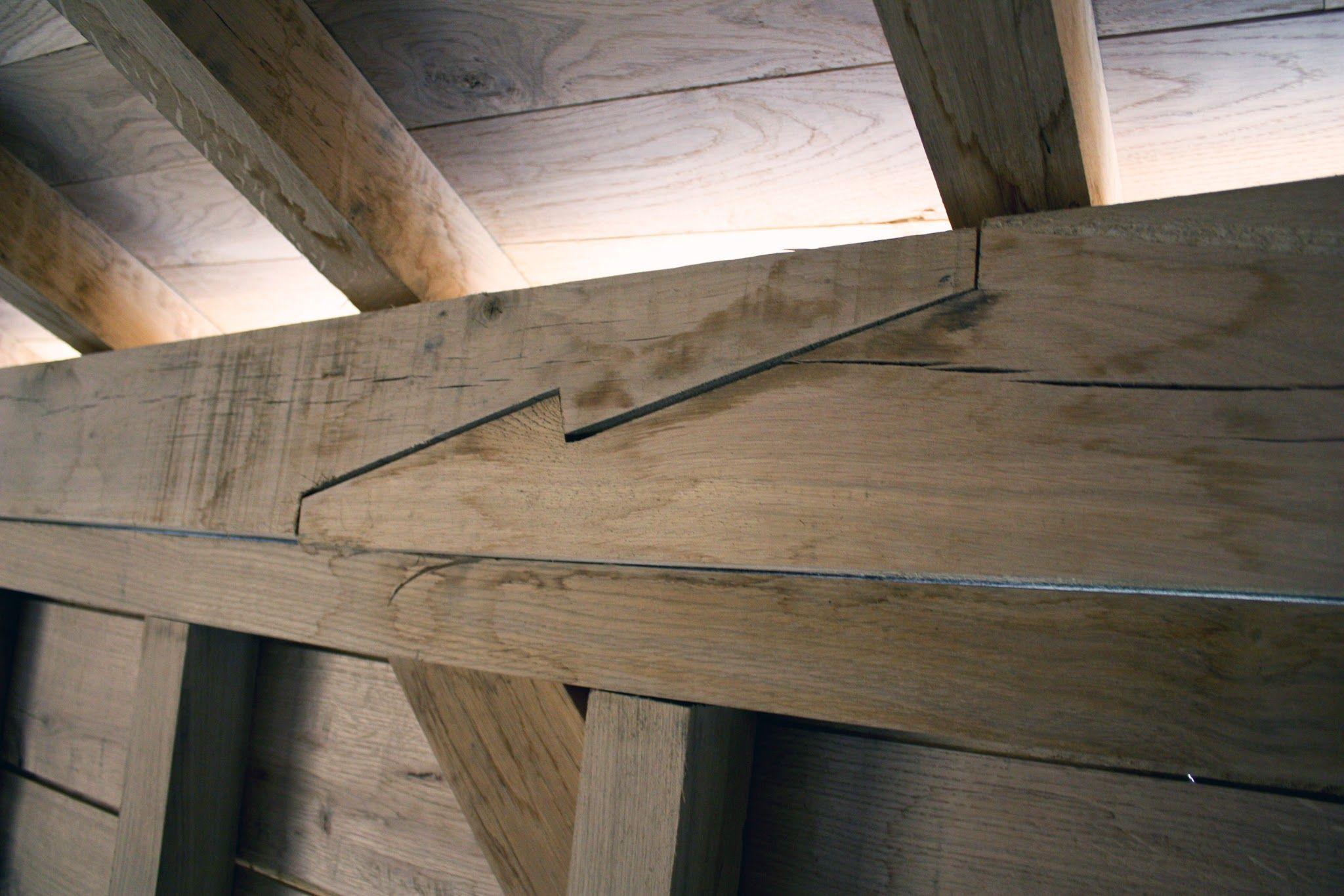как соединить деревянные балки фото руси только