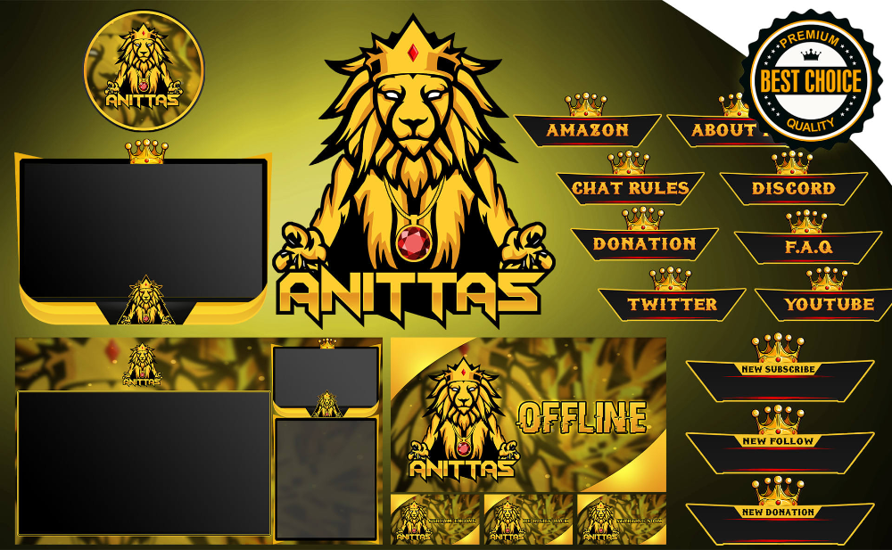 I Ll Design Amazing Twitch Overlay And Logo For Your Stream For 28 Seoclerks Cover Jobs Amazing