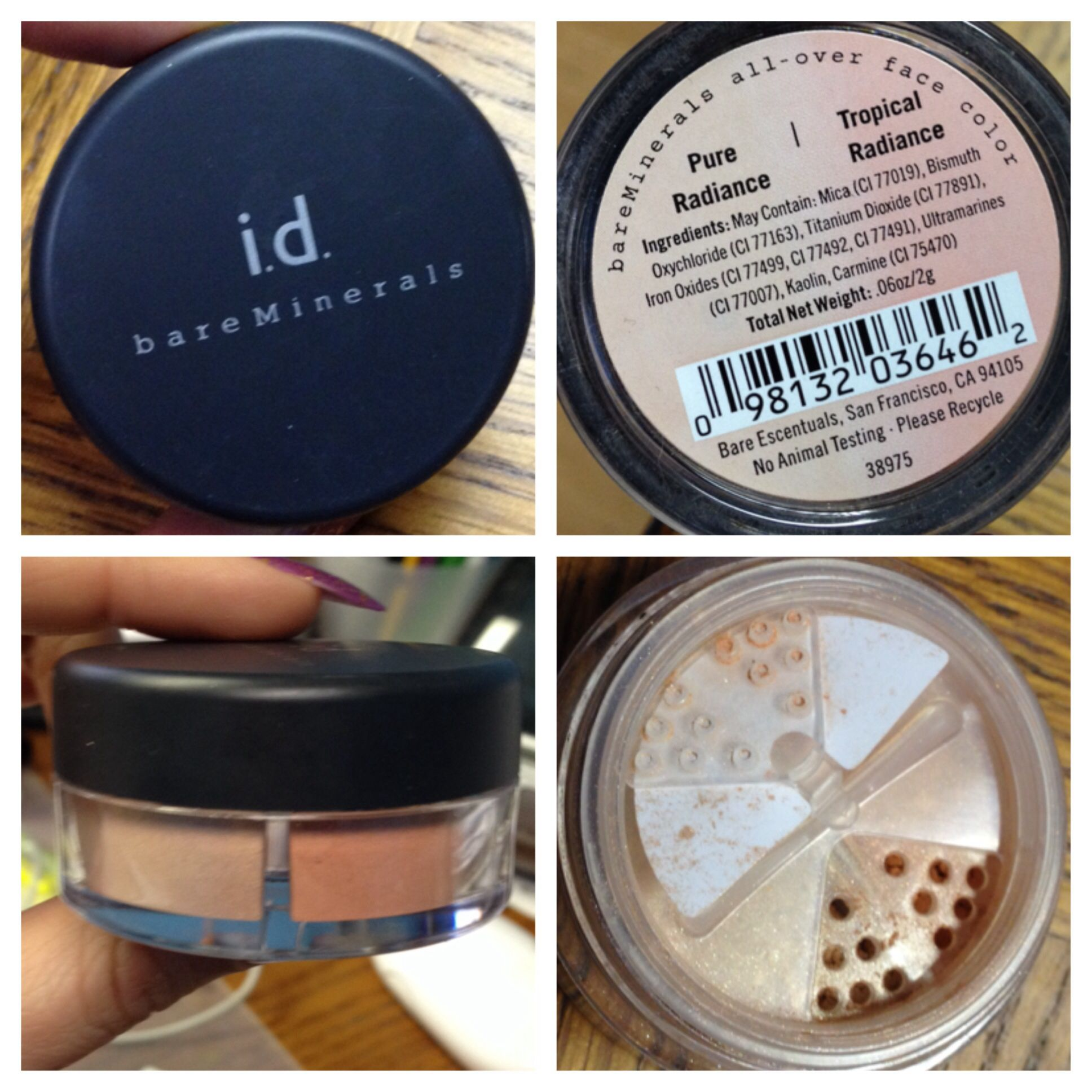 Bare Escentuals Pure Tropical Radiance All Over Face Color Duo Used A Few Times 14 Pure Products Bare Escentuals Bare Minerals