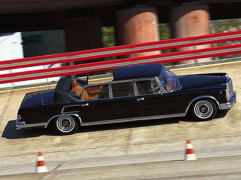 Mercedes-Benz 600 Laundaulet (W100) | Flickr - Photo Sharing!