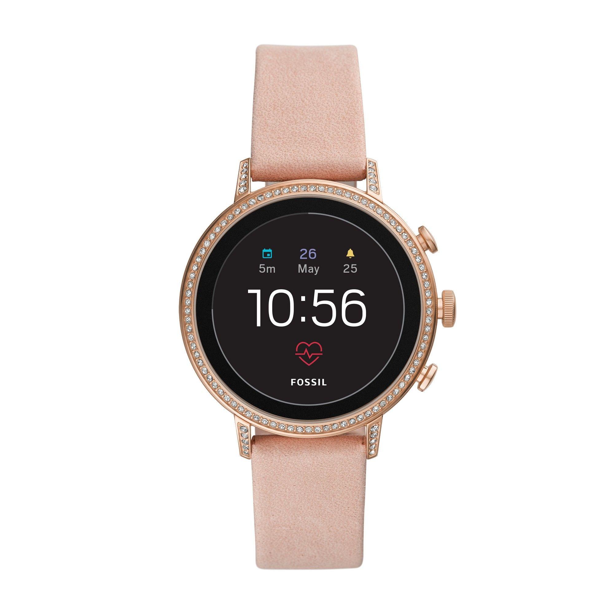 Fossil Gen 4 Smartwatch Venture HR 40mm Blush Leather