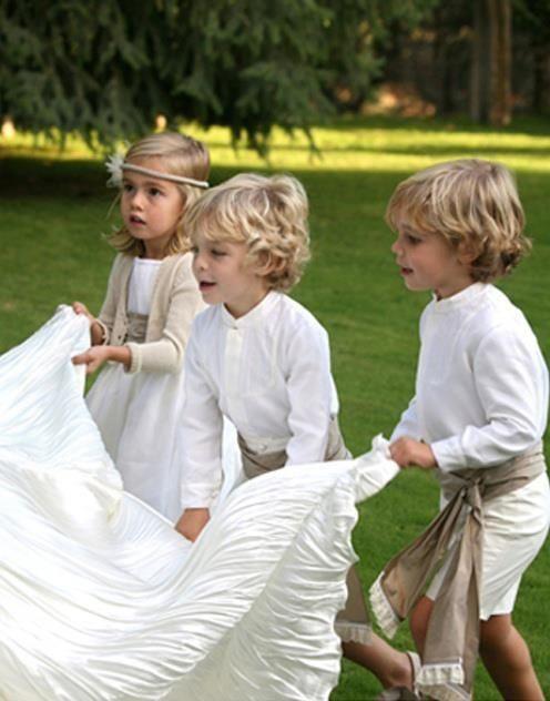 damas y pajes de boda cosas de bodas pinterest boda