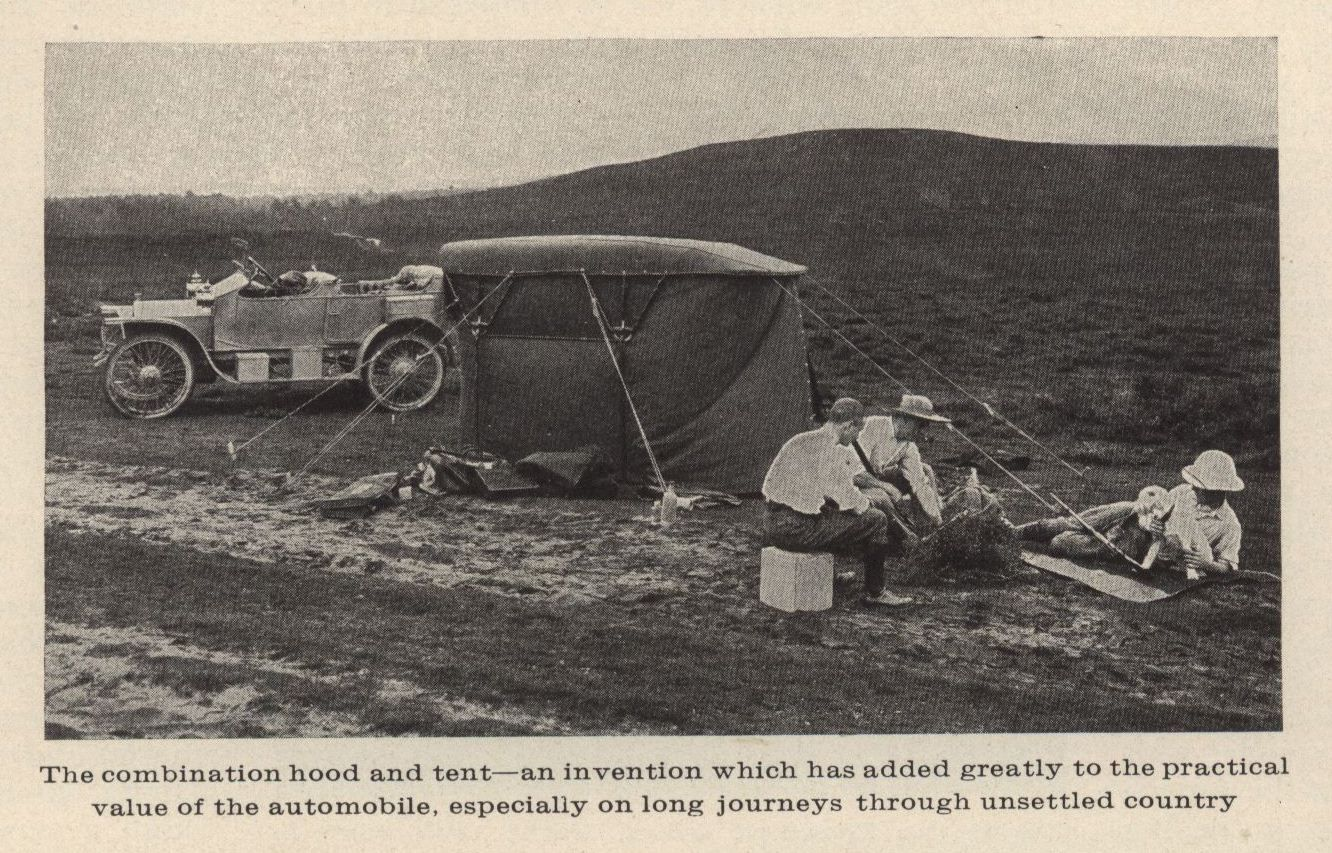 Country Life in America, June 1910. Showing a 15 horsepower English ...