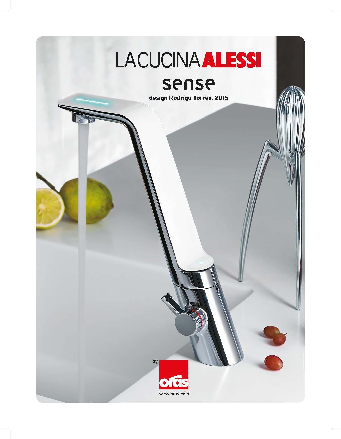 La Cucina Alessi Sense by Oras | Oras | Alessi, Kitchen design, Faucet