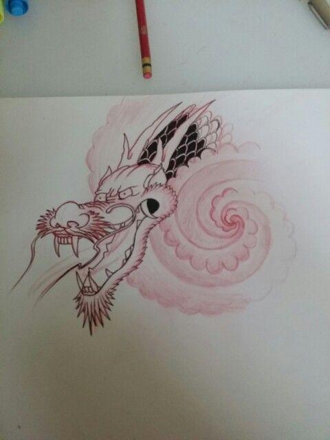 japanese dragon sketch tattoo artwork workflow motivation quick night sketch drawing my drawings pinterest dragon sketch japanese dragon