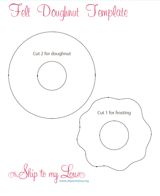 felt donut template donut party pinterest donut party donuts