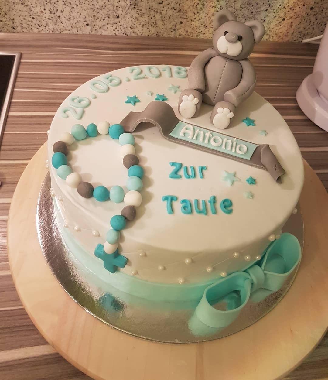 Tauftorte Junge Taufe Kuchen Torte Taufe Und Motivtorten