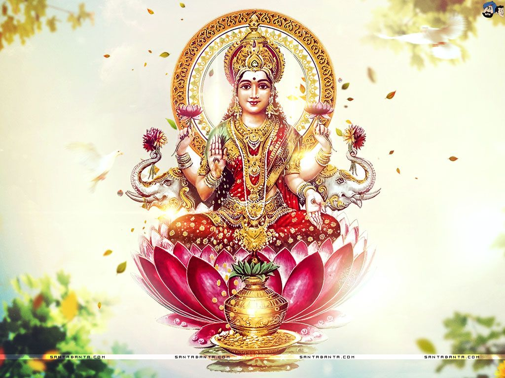 Lakshmi Goddess Of Wealth Love Prosperity Both Material And Spiritual Fortune And The Embodiment Of Beauty Sh Lakshmi Images Goddess Lakshmi Hindu Gods