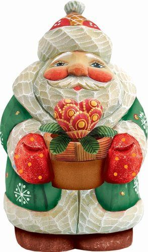 G Debrekht Santa Growing Love 4 Santaclaus Santa Claus Christmas Figurine Decor Gift Gosstudio We Recommend Gi Love Gifts Christmas Moose Santa