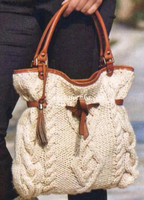Photo of Вязаные сумки теперь в тренде. Идеи и описания.