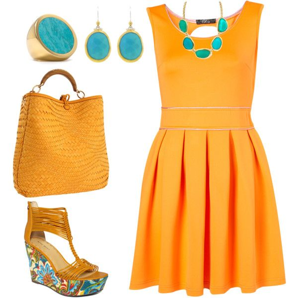 How well does Yellow & Turquoise look together! All items ...