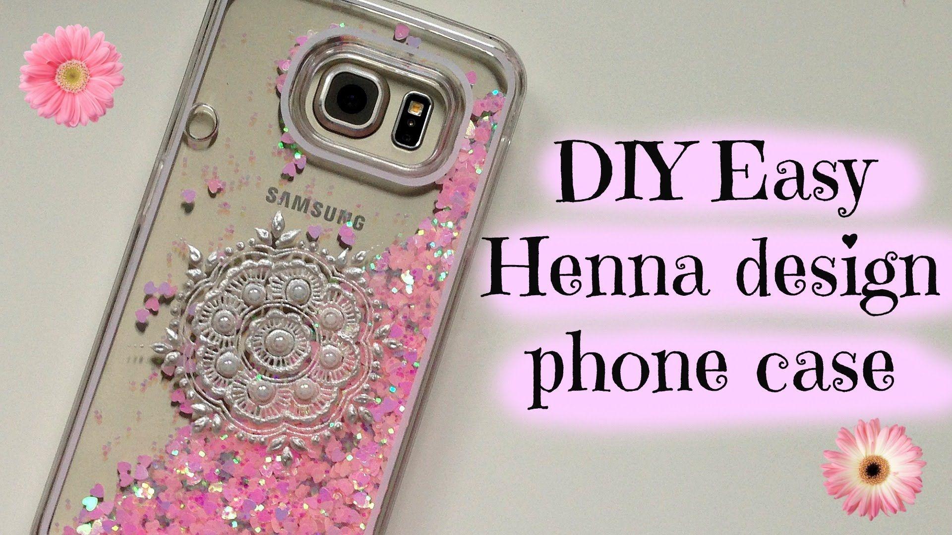 Diy Easy Decorated Phone Case Tutorial
